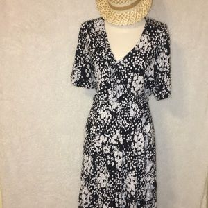 Lane Bryant ruffled dress